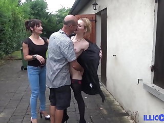 Sodomy for Morgane she tests everything before wedding