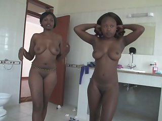 Sexy African Babes Samantha And Sakira Make White Guy's Dreams Come True