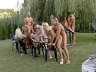Outdoor Fuck Fest - DBM Video