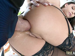 TRUE ANAL Ariana Marie has her delicious booty stuffed