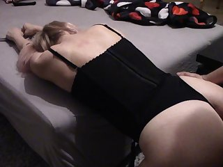 Non-stop orgasms for a cheating wife - Cum in her mouth and plays with it