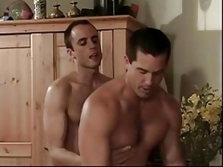 Biisexual Stud Gives head Friends Knob then Gets down and dirty Wife