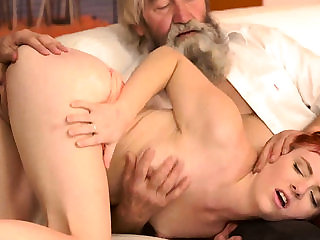 Sauna old young and fat man amateur Unexpected practice...