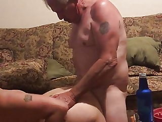 My dad fucks my slut wife