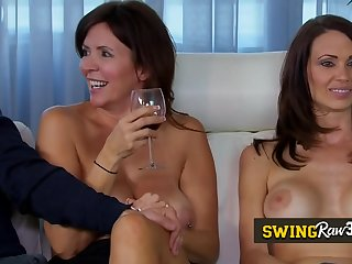 TV swing show with young couples ready to push their sexual boundaries. New episodes of Swingraw3.