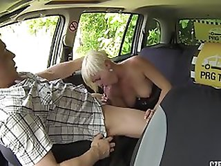 Short Haired Lady Pays Taxi Driver With Her Wet Pussy