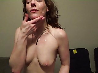 bbc cumslut swalllows another load