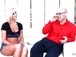 Hot MILF Mom Lexi Seduce Friend of Daughter to Fuck her