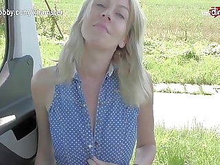 MyDirtyHobby - Gorgeous MILF outdoor fuck with a stranger