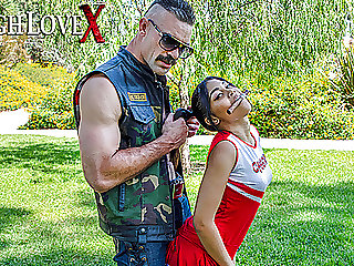 TOUGHLOVEX Karl picks up hot slutty teen Jeni Angel