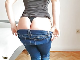 Bestfriend sits on my cock while her BF is out!