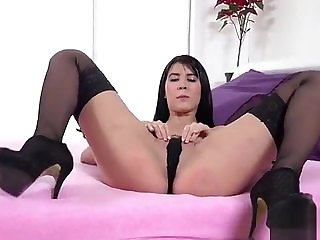 Cute Czech Chicks Gape Their Asses With Assplug And Thi...