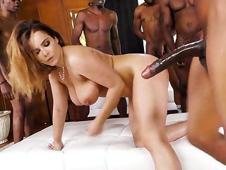 BBQ Party Turns BBC Gangbang - Natasha Nice