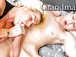 Granny's Acting like a Slut Again!