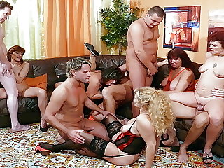 German Mature Swinger Party with 6 Real Couples in Berlin