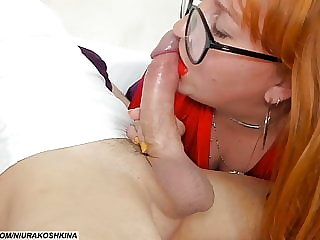 Mommy Teases My Big Cock Again, Can't Resist It