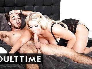 ADULT TIME - I Busted All Over The MILF Realtor's Big Tits!