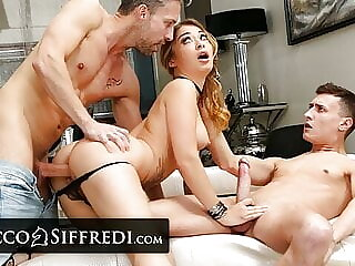Hot Soldier Misha Maver Gets Double Fucked As A Training Exercise