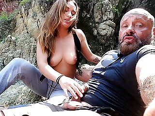 Persuaded to have sex with a horny old sex tourist