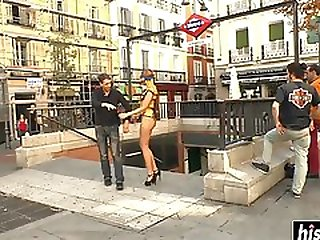 Kinky Chick Got Punished By A Stranger