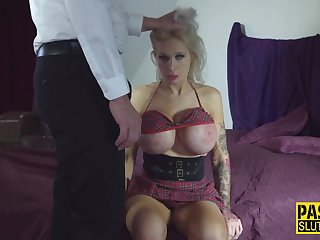 Milf sub with huge jugs