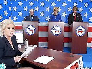 Presidential debate ends with everyone fuckin