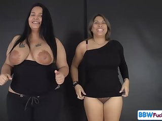 Lactation 2 Chubby Latino girls AMAZING