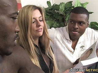 Interracial Anal Sex And DP With Jessie Volt