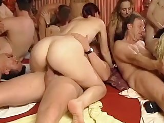 German swinger groupsex orgy