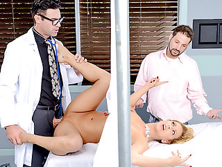 Naughty doctor fucks his hot MILF patient during check up