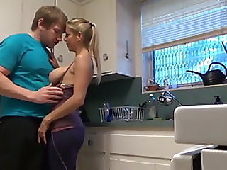 Alexis Fawx Seduces Young Handsome Dude