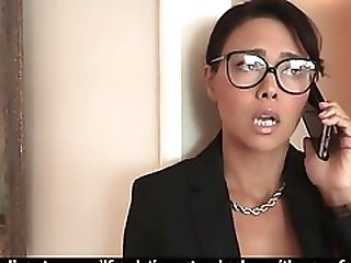 Stepson Fucks His Asian Stepmom And He Really Loves It
