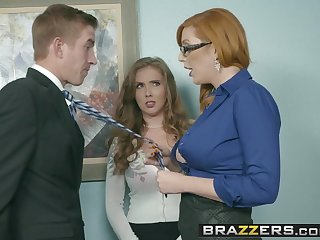 Brazzers - Melons at Work -  The New Girl Part 3 episode sta