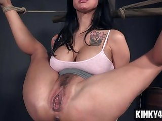 Big knockers porn babe bondage with ejaculation