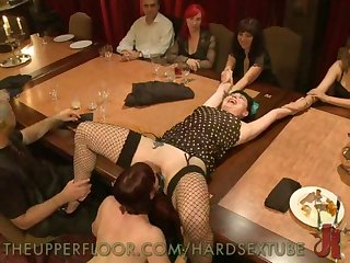Kinky Orgy Dinner Party