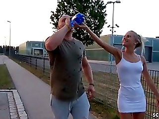 Cute German Teen NinaXS Fuck With Stranger For Thanks Pickup