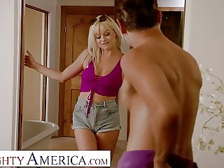 Naughty America - Kelly (Nova Cane) fucks her friend's Dad