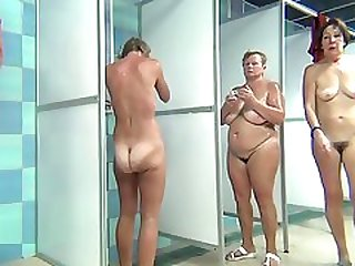 Wild Party Group Sex Inside The Shower