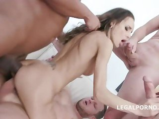 ALETTA BLACK - First Gangbang