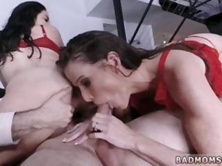 Milf and college girl look inside vagina during sex Treat Me Like You
