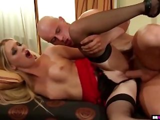 BrokenTeens - Doll-like Blonde Teen Masturbates Before Getting Fucked Hard