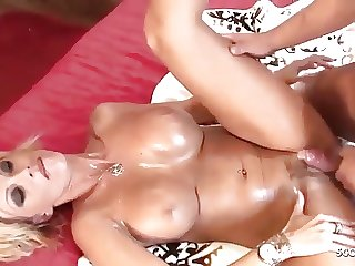 Deep Anal and Titfuck for Sexy German MILF Hooker Kada Love