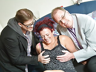 AmateurEuro - German BBW Ira K. Gets Hard Banged In Hot MMF