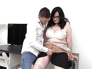 Mom son perfect couple and taboo sex