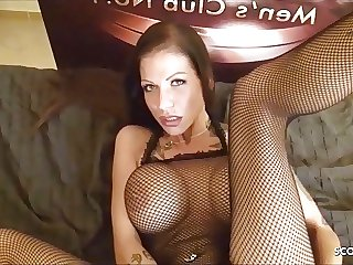 Real German Hooker No Condom Anal with Creampie in Ass