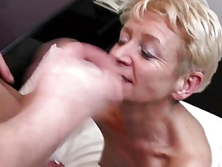 Home sex story with mature mom and son