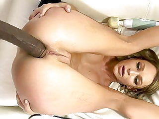 Anal Slut Emma Hix Chooses Big Black Cocks