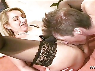 Two German Mature Change Her Husband and Fuck in Group