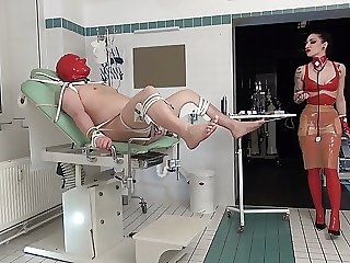 Medical Examination - A happy Dick