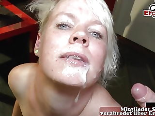 GERMAN MOM AT CUM CREAMPIE GANGBANG SEXPARTY